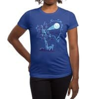 Night Sky Projector - womens-regular-tee - small view