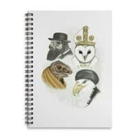 Birds of Pray - spiral-notebook - small view