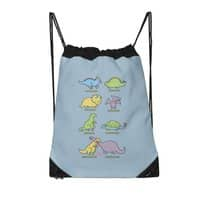 Know Your Dinosaurs - drawstring-bag - small view