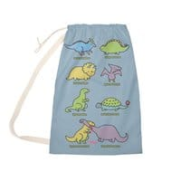 Know Your Dinosaurs - laundry-bag - small view