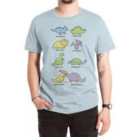 Know Your Dinosaurs - mens-extra-soft-tee - small view