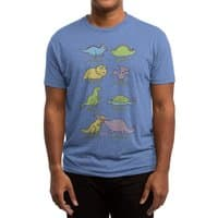 Know Your Dinosaurs - mens-triblend-tee - small view