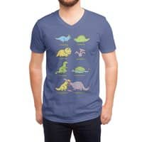Know Your Dinosaurs - vneck - small view