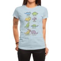Know Your Dinosaurs - womens-regular-tee - small view