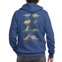 Know Your Dinosaurs - zipup - small view