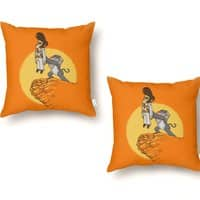 The King - throw-pillow - small view