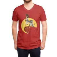 The King - vneck - small view