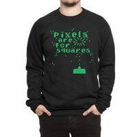 Pixels Are For Squares - crew-sweatshirt - small view