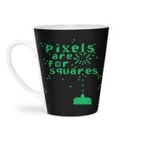 Pixels Are For Squares - latte-mug - small view