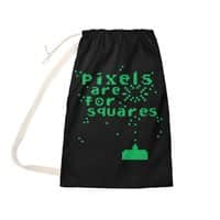 Pixels Are For Squares - laundry-bag - small view