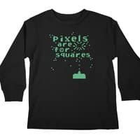 Pixels Are For Squares - longsleeve - small view