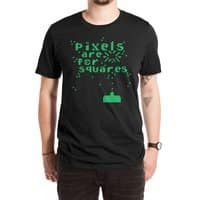 Pixels Are For Squares - mens-extra-soft-tee - small view