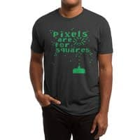 Pixels Are For Squares - mens-triblend-tee - small view