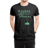 Pixels Are For Squares - mens-regular-tee - small view