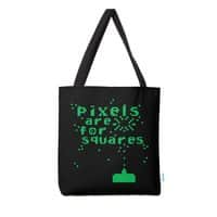 Pixels Are For Squares - tote-bag - small view