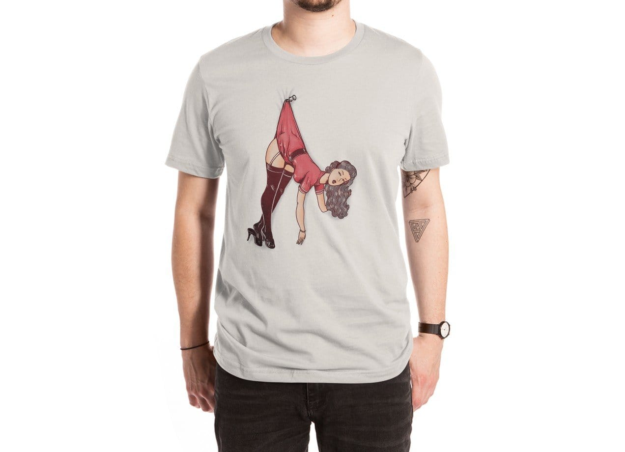 Pin Up Girl by Alex Solis   Mens Extra Soft Tee Threadless