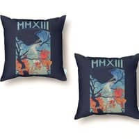 MMXIII - throw-pillow - small view