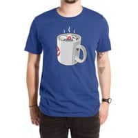 Something Strange, In Your Beverage... - mens-extra-soft-tee - small view