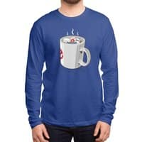 Something Strange, In Your Beverage... - mens-long-sleeve-tee - small view
