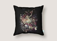 Zombies in Wonderland - throw-pillow - small view
