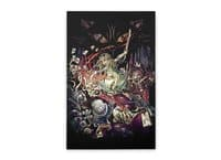 Zombies in Wonderland - vertical-stretched-canvas - small view