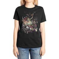 Zombies in Wonderland - womens-extra-soft-tee - small view
