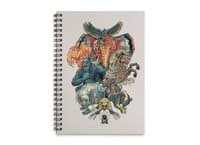 The X-MENAGERIE - spiral-notebook - small view