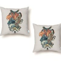 The X-MENAGERIE - throw-pillow - small view