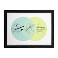 Math - black-horizontal-framed-print - small view