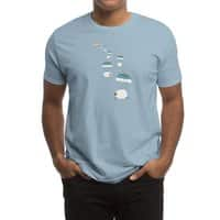 Sheepy Clouds - mens-regular-tee - small view