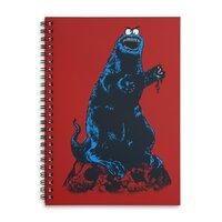 The Real Mmmmmph Mmmph Monster! - spiral-notebook - small view