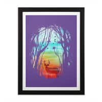 Lost in My Dreams - black-vertical-framed-print - small view