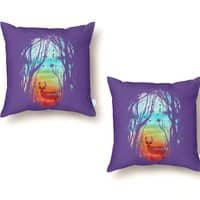 Lost in My Dreams - throw-pillow - small view