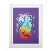 Lost in My Dreams - white-vertical-framed-print - small view