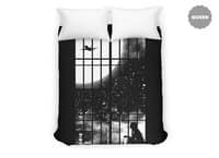 All Alone - duvet-cover - small view