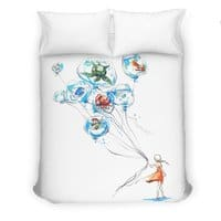 Water Balloons - duvet-cover - small view