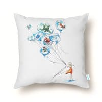 Water Balloons - throw-pillow - small view