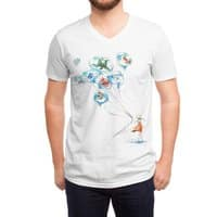 Water Balloons - vneck - small view