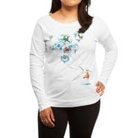 Water Balloons - womens-long-sleeve-terry-scoop - small view
