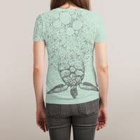 Into the Sea... - womens-sublimated-triblend-tee - small view