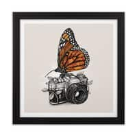 Nature Photography - black-square-framed-print - small view