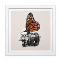 Nature Photography - white-square-framed-print - small view