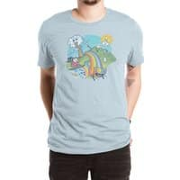 Rainbow Pasta - mens-extra-soft-tee - small view