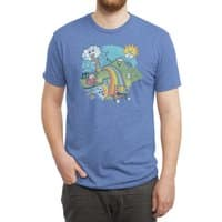 Rainbow Pasta - mens-triblend-tee - small view