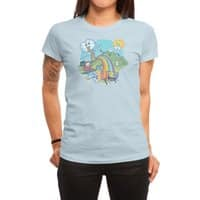 Rainbow Pasta - womens-regular-tee - small view