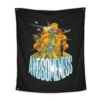 AWESOMENESS - indoor-wall-tapestry-vertical - small view
