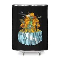 AWESOMENESS - shower-curtain - small view