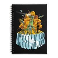 AWESOMENESS - spiral-notebook - small view