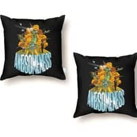 AWESOMENESS - throw-pillow - small view
