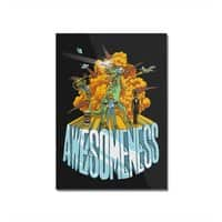 AWESOMENESS - vertical-mounted-acrylic-print - small view